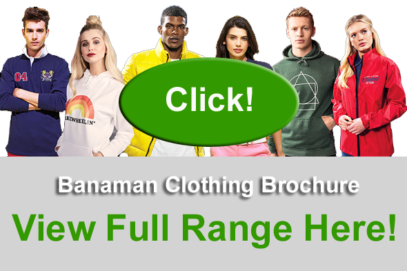 Printed Promotional Clothing Brochure