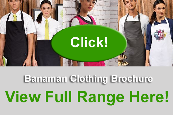 Printed Aprons and Tabards Brochure